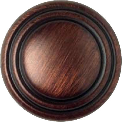 GROOVED ANTIQUE COPPER-BRONZE